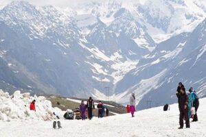 Down Hill View From Rohtang Pass