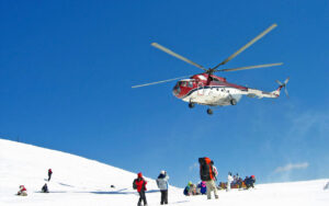 Helicopter Service from Manali to Rohtang Pass