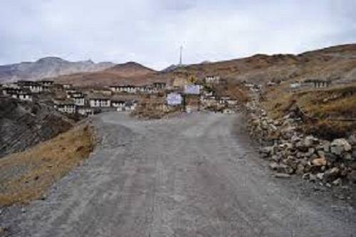 Kibber Village, Highest Motorable Road