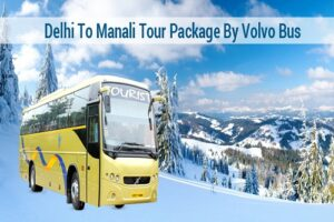 Manali Cheap Bus Tour Package