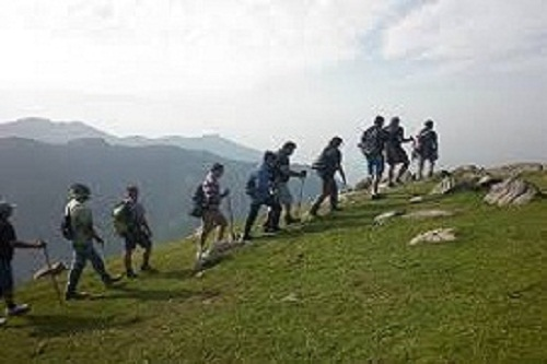 Mountain Trekking In Dharamshala