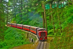 World UNESCO Heritage Shimla Toy Train